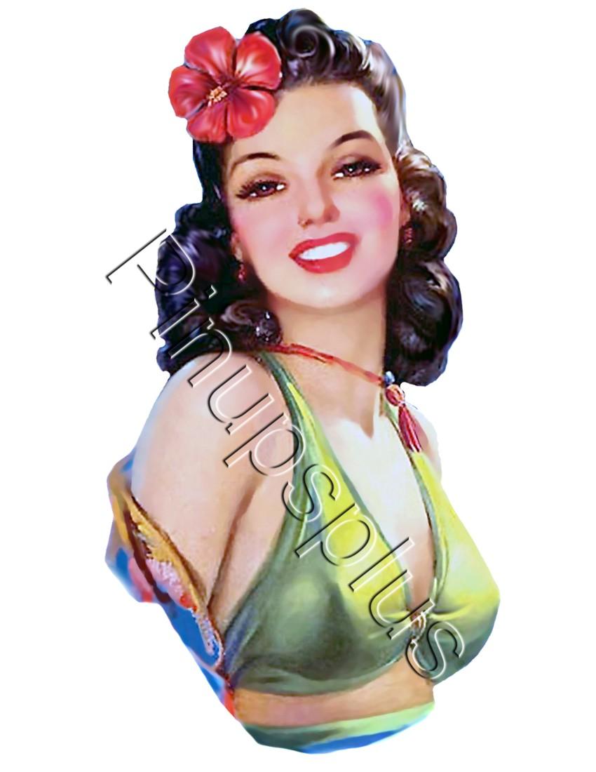Latina Pin Up Girl